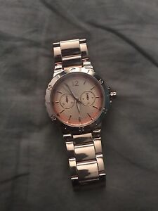 Women's Rose Gold Chatelaine Watch