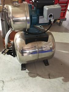 Grundfos 1/2HP Jet Pump/Tank Package