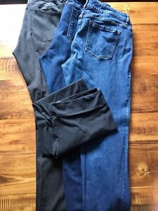 Lot With 14 Pairs Brand Name Jeans/Pants/Leggings - Size 16
