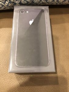 iPhone 8 unlocked space grey 64GB BNIB