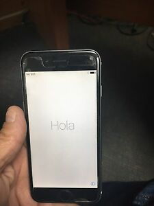 iPhone 6, black and grey, 16 gb
