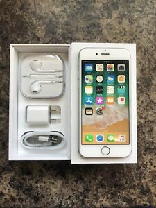 Unlocked 10/10 Condition iPhone 6 64GB with Box & Accessories