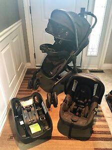 Safety 1st Lux Stealth Travel System - Gravity