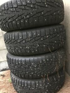 Snow tires ,Toyota rims
