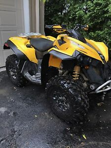 Like new 2014 Can Am Renegade 800R