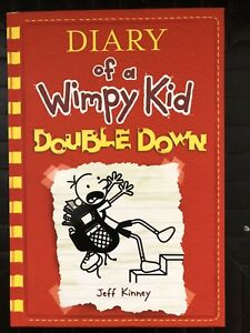 Diary of a Wimpy Kid #11 - Double Down hardcover