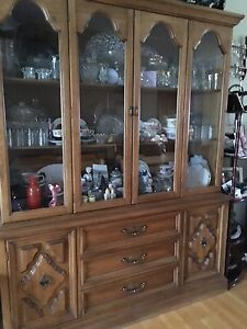 FOR SALE;  NICE CHINA CABINET &BUFFET