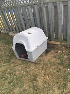 Outdoor dog home