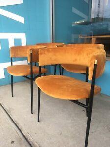 Mid Century Australian 1950s atomic dining chairs