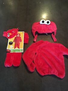 Halloween Costume Elmo (for kid and adult)