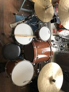 Mapex drums, Sabina cymbals and more