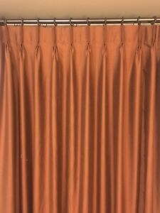2 Curtain Panels 54x82