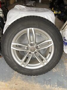 4 Pneus Hiver / 4 winter tires 225/65/R17 101Q with mags