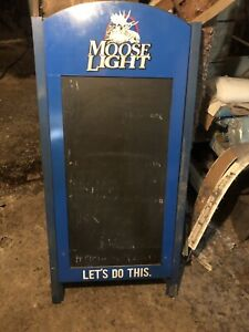 Moose light clam board. Be good for a man cave