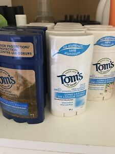 Tom's of Maine Lot - Brand New Natural Deodorant