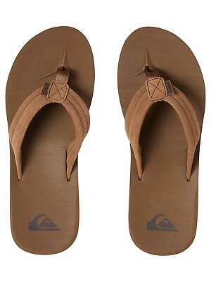 Quiksilver Men's Carver Suede Sandals Suede Mens Sandals