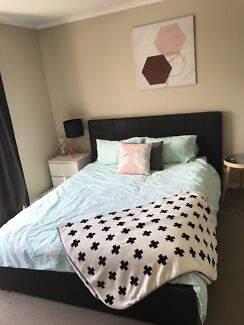 Queen size bed frame only for sale