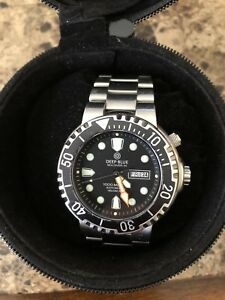 Automatic Deep Blue Sea Diver 1000meter water resistant