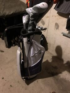 Right hand golf clubs, never used