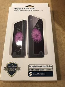 6S Plus case and screen