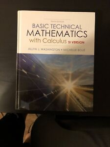 Basic technical mathematics with calculus buy or sell books in basic technical mathematics with calculus fandeluxe Gallery