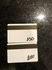 Sunridge ski hill  gift cards $150.00 value