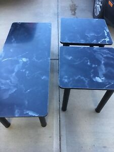 NEW 3 PIECE TABLE SET