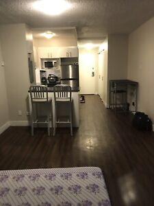 Studio apartment downtown
