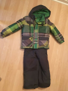 Kid's ski jacket and ski pants size 5