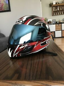 HJC AC11 Helmet With Aftermarket Visor