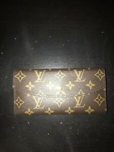 Brown LV wallet real leather