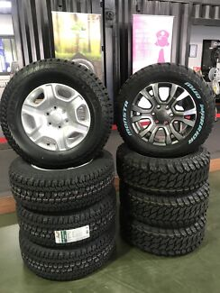 Ford ranger Wheels and tyres packages 18""