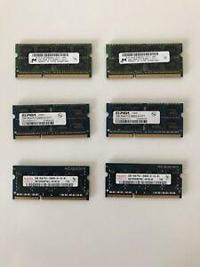 6x 2gb ddr3 ram for laptops