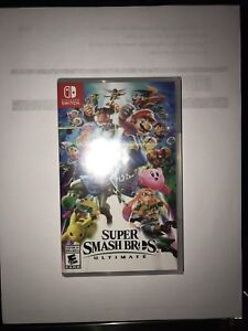 Selling brand new and sealed copy of Super Smash Bro's Ultimate