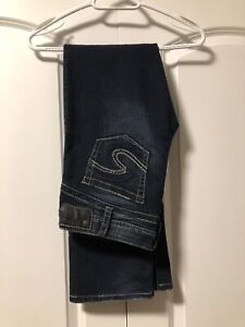 Ladies size 31 Silver Jeans, Waist 31 and length 33