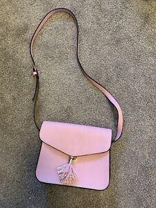 Pink Crossbody Purse and Wallet