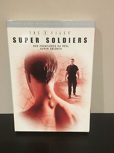 X-Files mythology DVDs - super soldiers and abduction