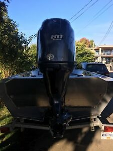 River Hawk Pro-V16 Jet Boat, New Yamaha 80/115hp