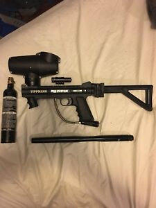 Tippmann 98 With Attachments