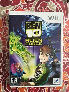 Ben 10 Alien Force Wii game