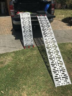 SCA Loading Ramps, Alloy, Pair - 400kg