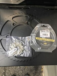 AFAM-Cr125-250 front and rear sprockets