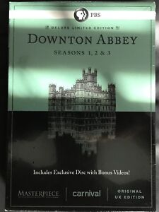 Downton Abbey Seasons 1, 2 & 3 Deluxe Limited Edition...