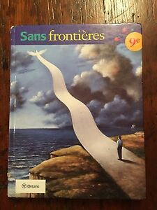Grade 9 French textbook