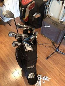Top Brands Golf Set. Taylormade Ping Callaway.  Ready to go