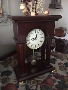 "Attractive Bombay 15""x10"" Battery Run Table Clock"