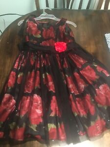 Size 8 holiday dress