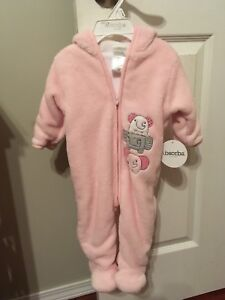 Micro fleece Footie from The Bay Size 3-6 months