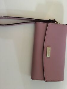Kate spade wristlet phone/wallet holder