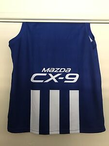 2017 North Melbourne kangaroos guernsey XL Carine Stirling Area Preview